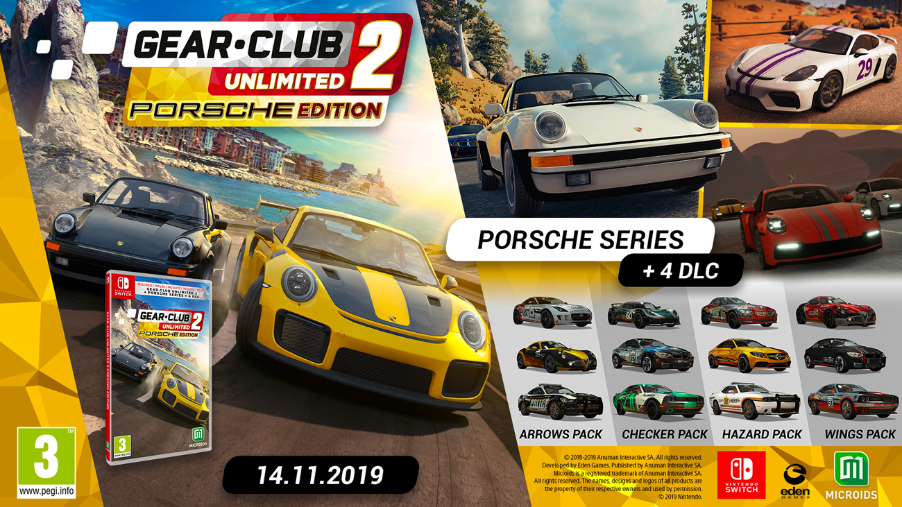 Gra Nintendo Switch Gear.Club Unlimited 2 - Porsche Edition