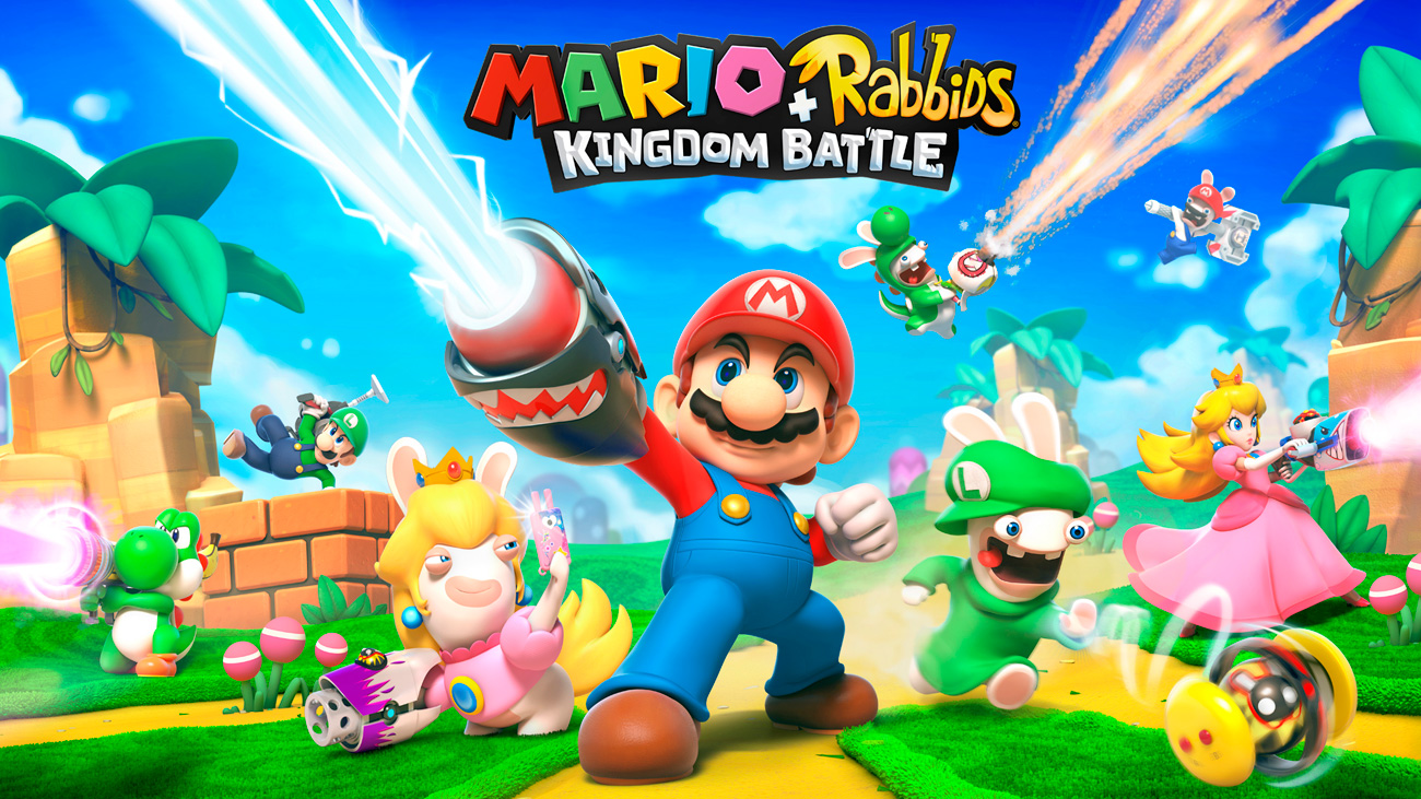 Gra Mario + Rabbids: Kingdom Battle na Nintendo Switch