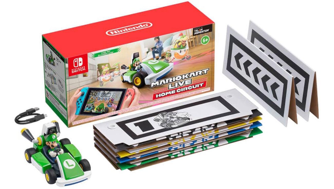 Zestaw Mario Kart Live: Home Circuit - Luigi