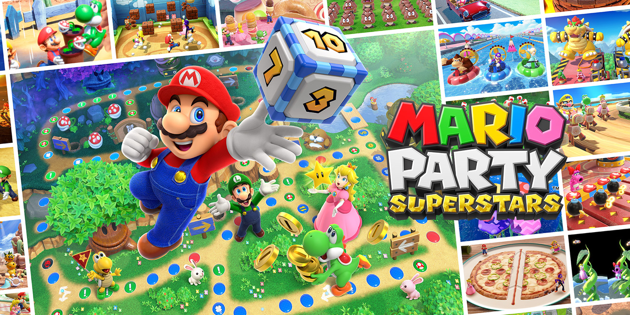 Gra Mario Party Superstars na Nintendo Switch