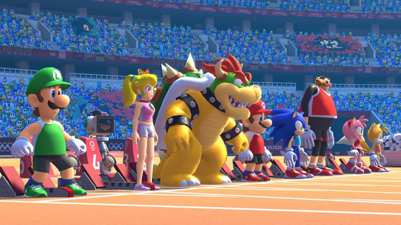 Gra Nintendo Switch Mario & Sonic at the Olympic Games Tokyo 2020