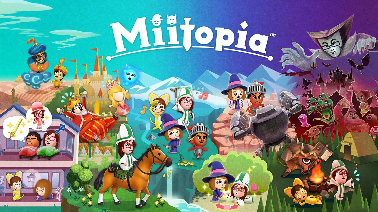 Gra Miitopia na Nintendo Switch