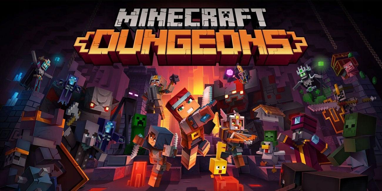 Gra Nintendo Switch Minecraft: Dungeons