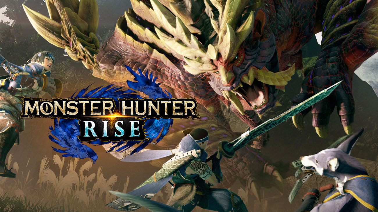 Gra Monster Hunter Rise na Nintendo Switch / MHR / MH Rise / NS