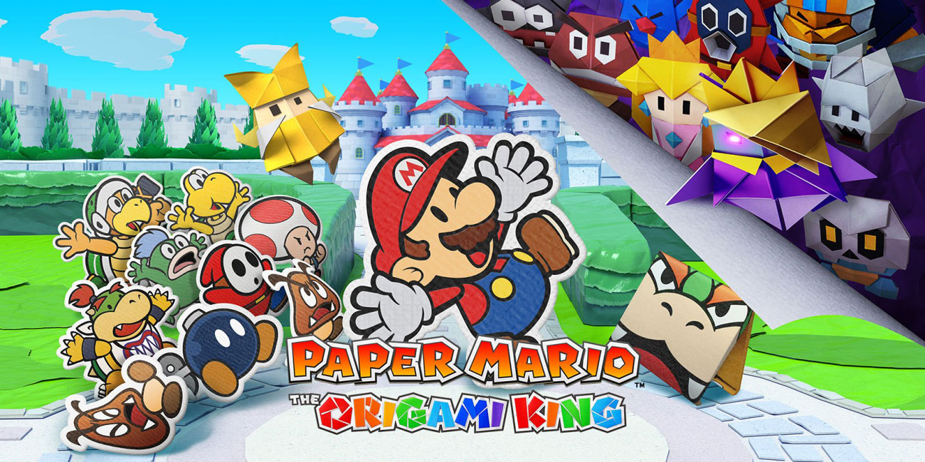 Gra Paper Mario: Origami King na Nintendo Switch / Mario Origami / Mario Origami King / Paper Mario Origami / NS