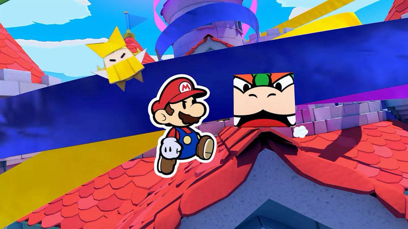 Ocal Księżniczkę Peach w grze Paper Mario: Origami King na Nintendo Switch / Mario Origami / Mario Origami King / Paper Mario Origami / NS