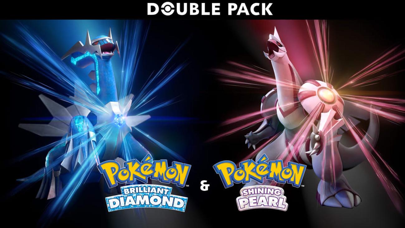 Zestaw Pokémon Brilliant D. & Shining P. Dual Pack na Nintendo Switch