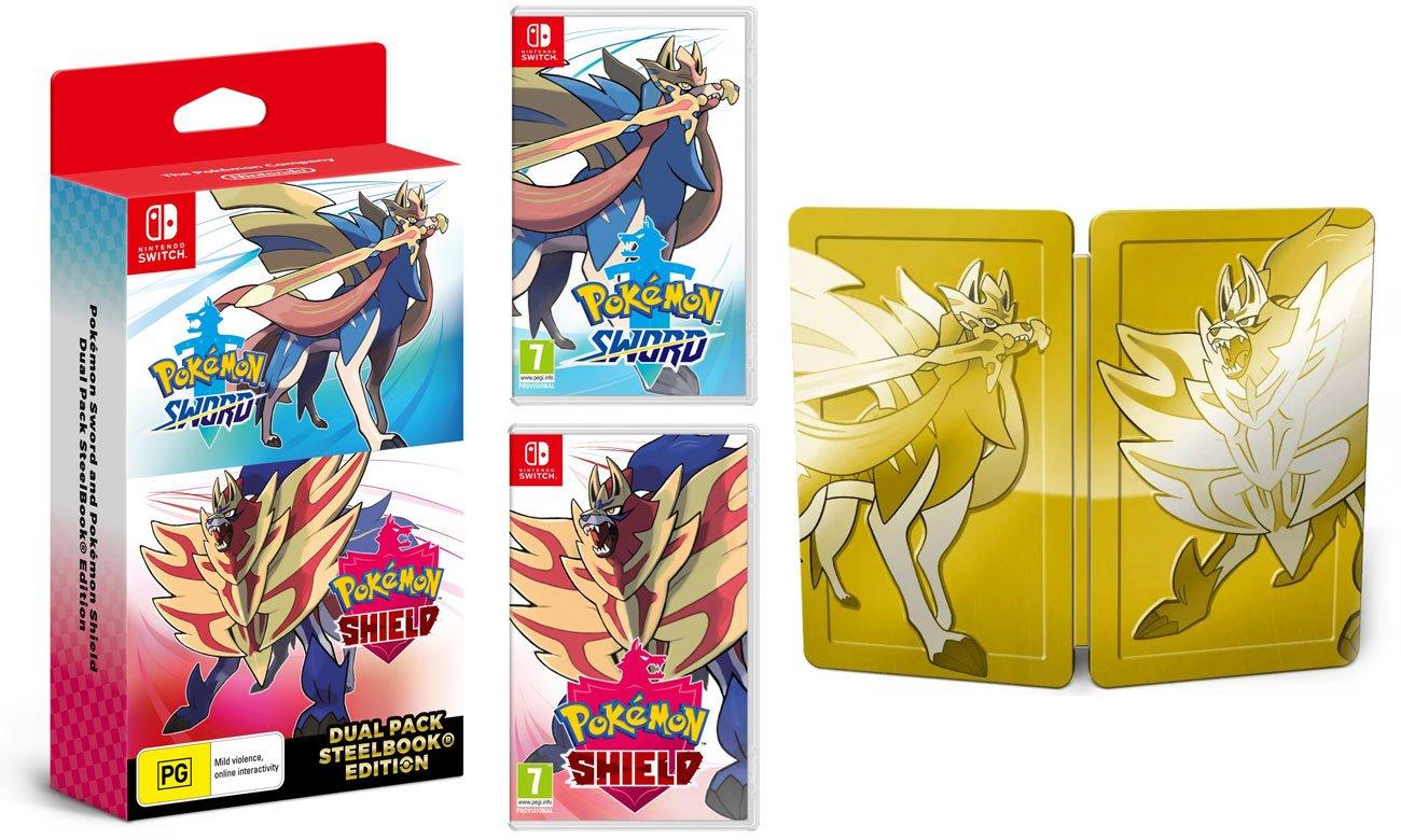 Zestaw Pokémon Sword & Shield Dual Pack