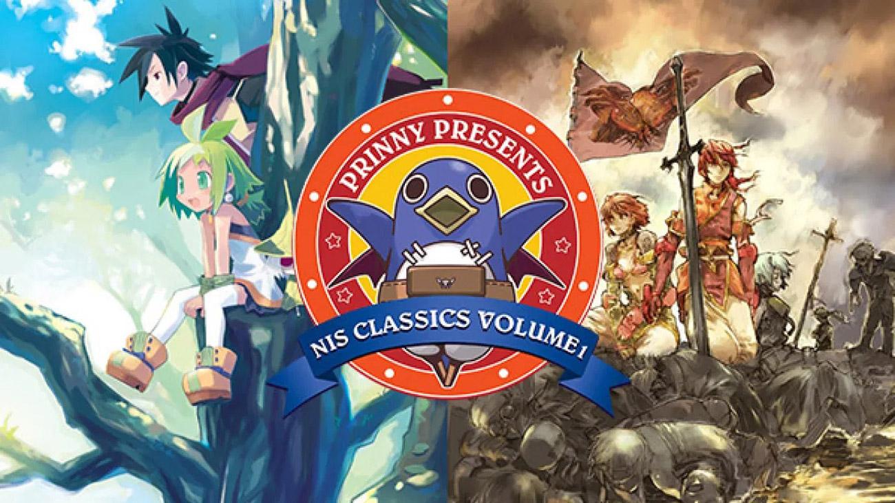 Zestaw 2 gier Prinny Presents NIS Classics Vol1 na Nintendo Switch