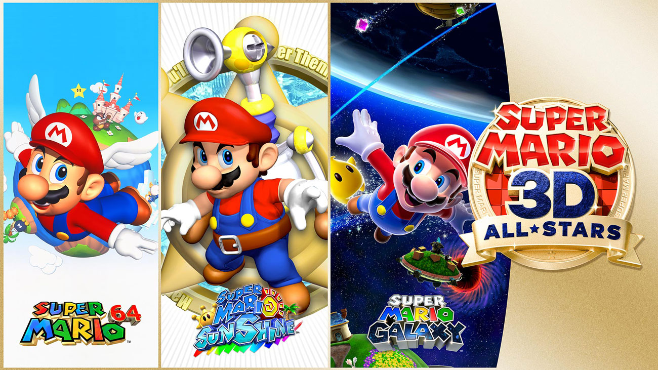 Pakiet gier Super Mario 3D All Stars na Nintendo Switch