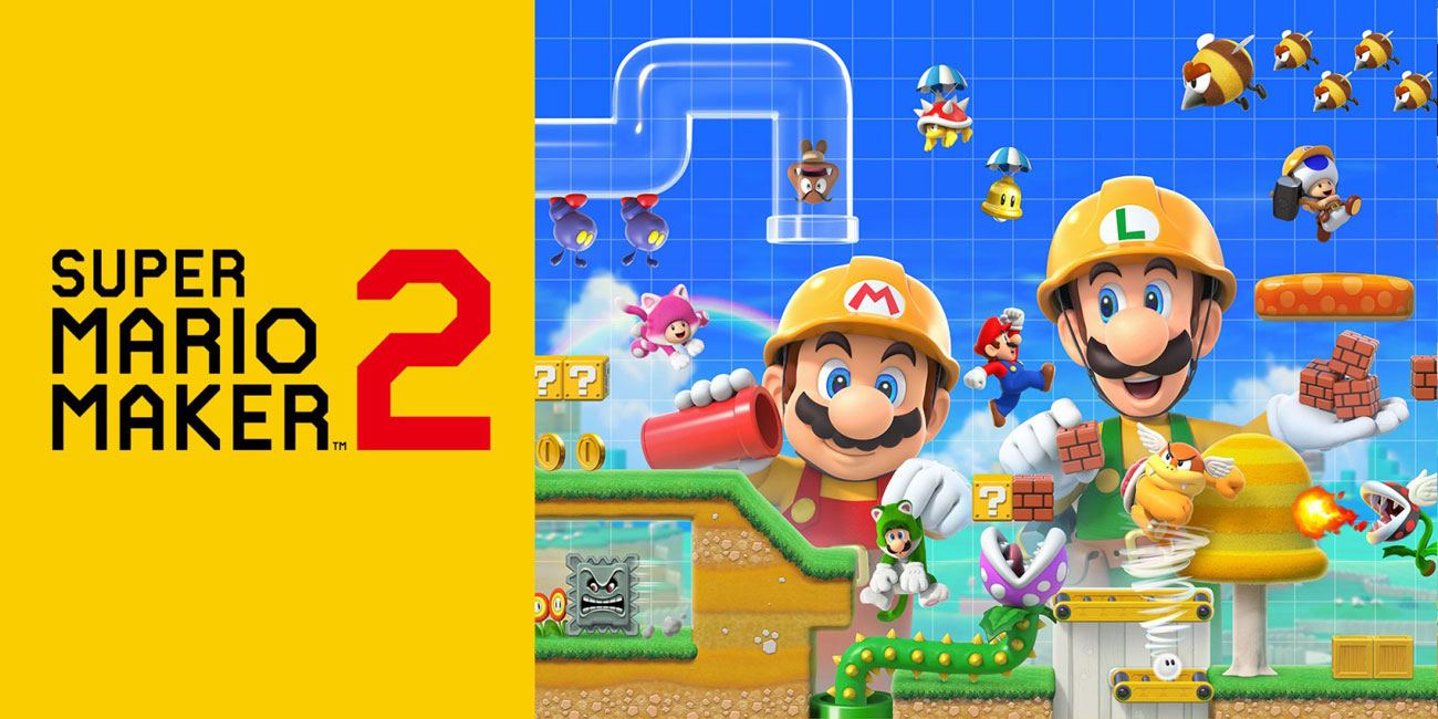 Gra Nintendo Switch Super Mario Maker 2