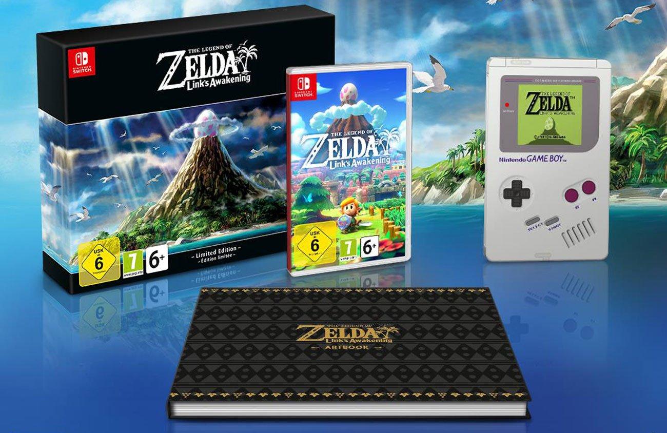 Gra Nintendo Switch The Legend of Zelda: Link's Awakening Limited Edition