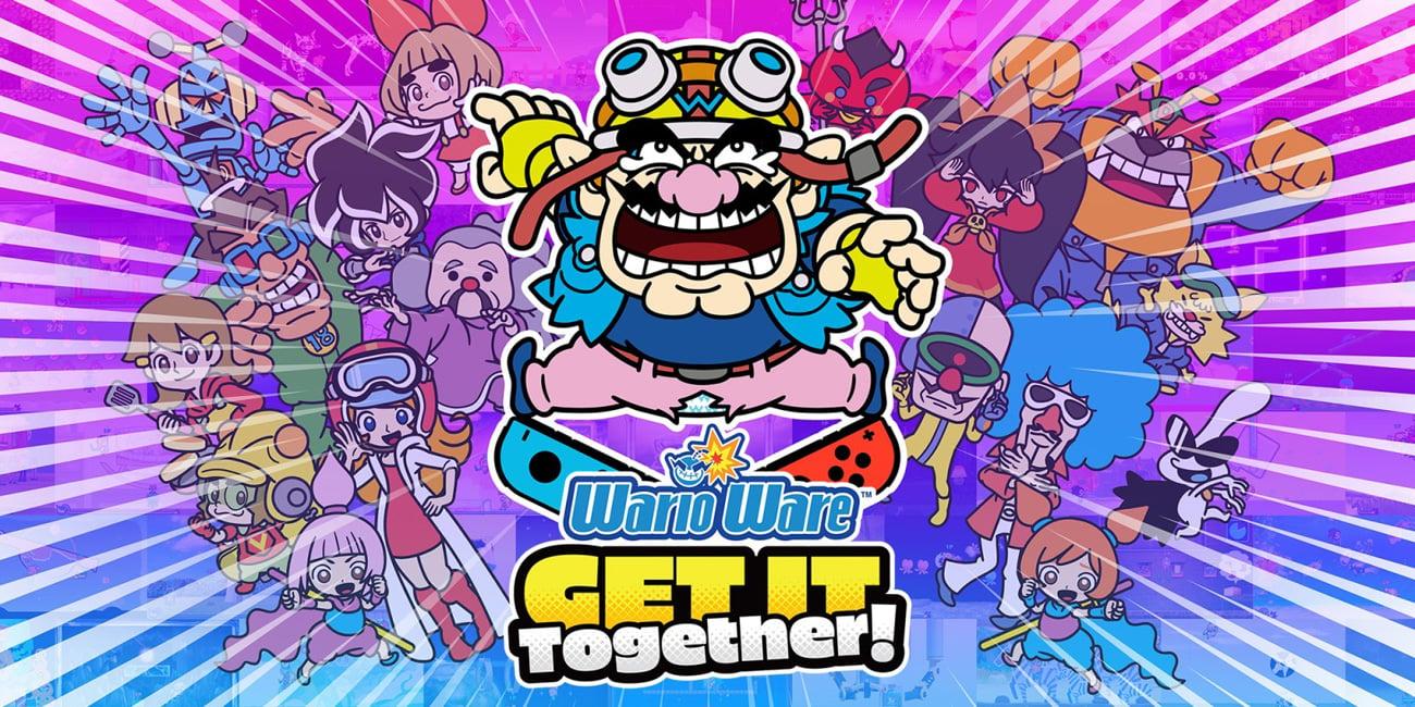 Gra WarioWare: Get It Together! na Nintendo Switch