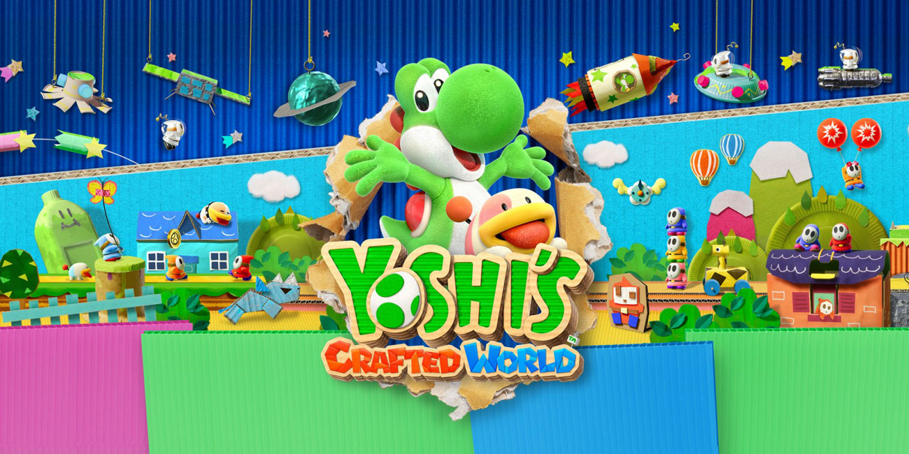 Gra Nintendo Switch Yoshi's Crafted World