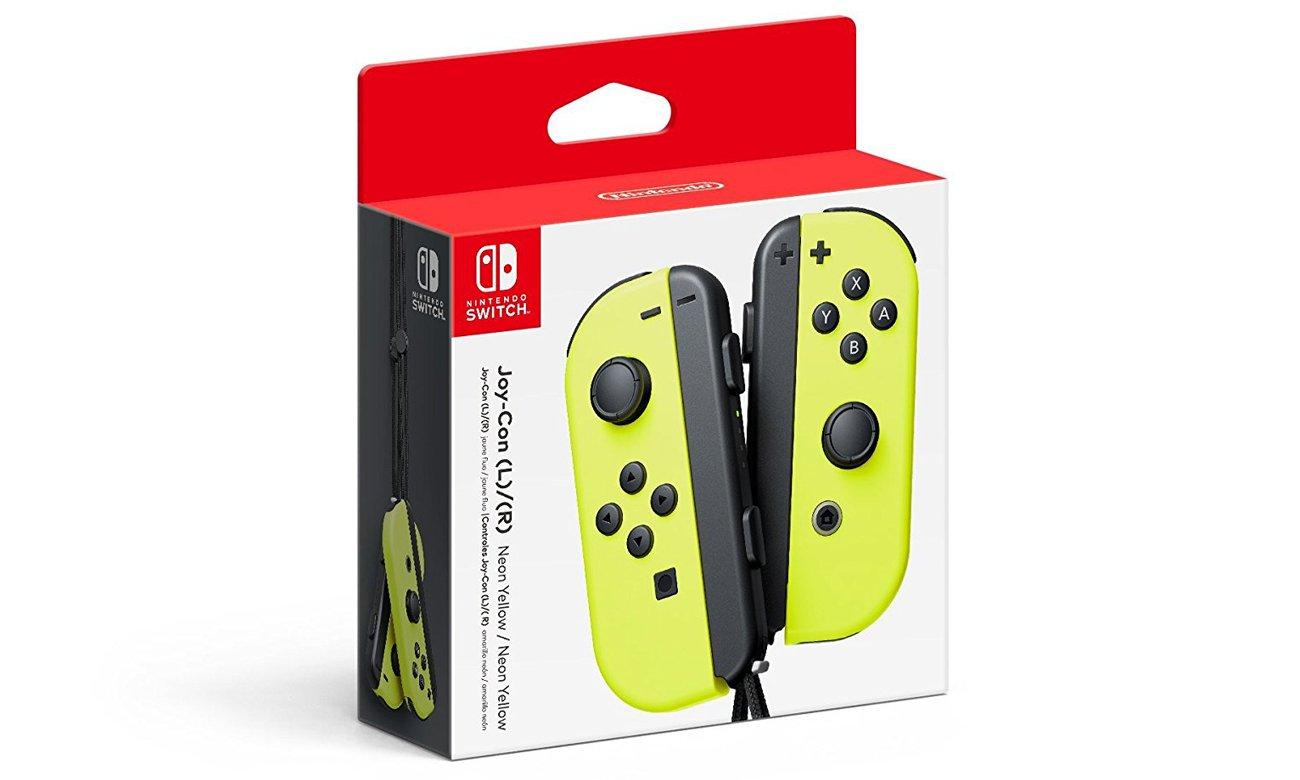 Nintendo Switch Kontrolery Joy-Con Zestaw Neon Yellow Zobacz co potrafi