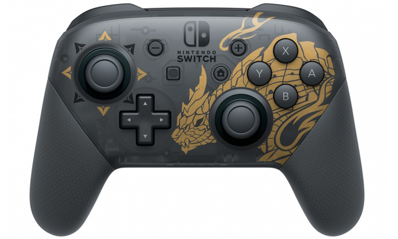 Kontroler Nintendo Switch Pro Controller Monster Hunter Rise