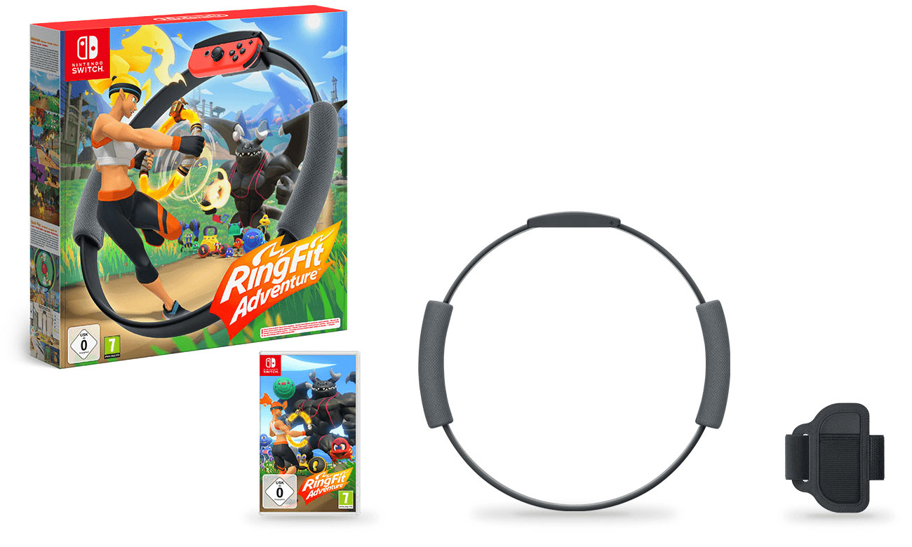 Gra i akcesoria Ring Fit Adventure do Nintendo Switch