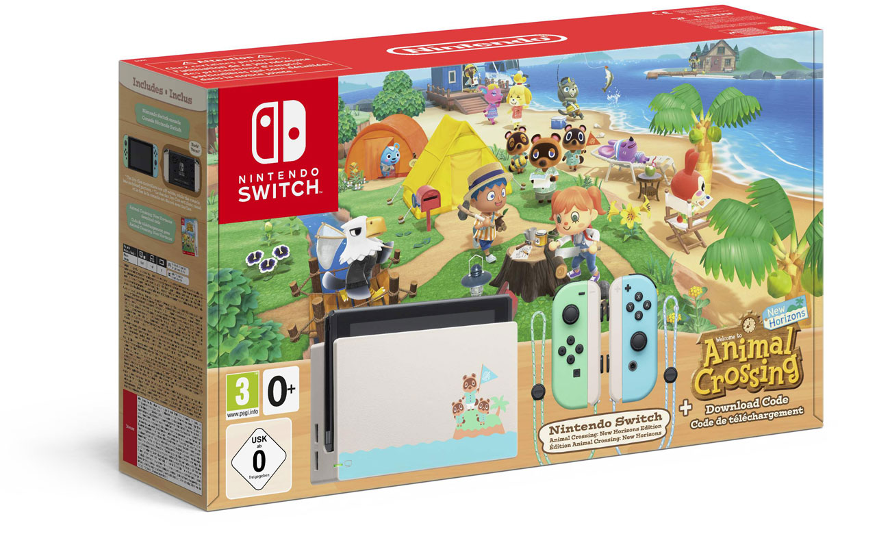 Konsola Nintendo Switch: Animal Crossing Edition