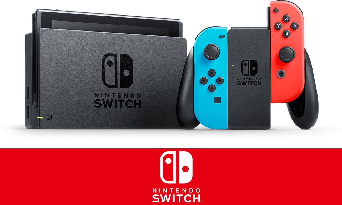 Konsola Nintendo Switch Czerwono-Niebieski Joy-Con