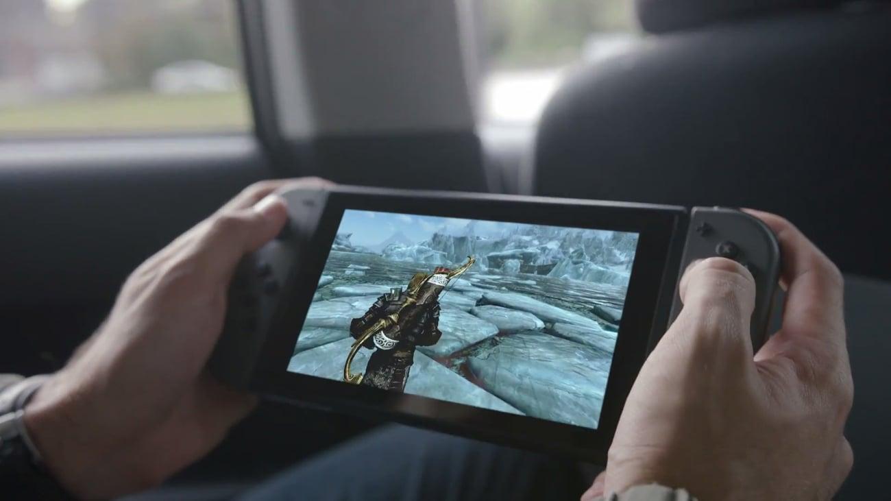 Konsola Nintendo Switch Czerwono-Niebieski Joy-Con Graj w podróży