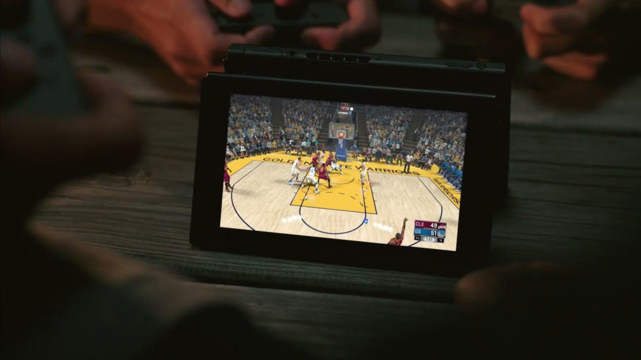 Konsola Nintendo Switch Czerwono-Niebieski Joy-Con Wspólna zabawa ze znajomymi