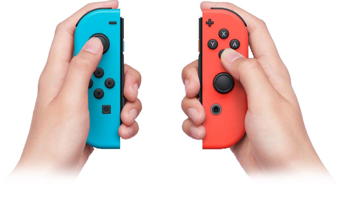 Konsola Nintendo Switch Czerwono-Niebieski Joy-Con Nowatorskie kontrolery