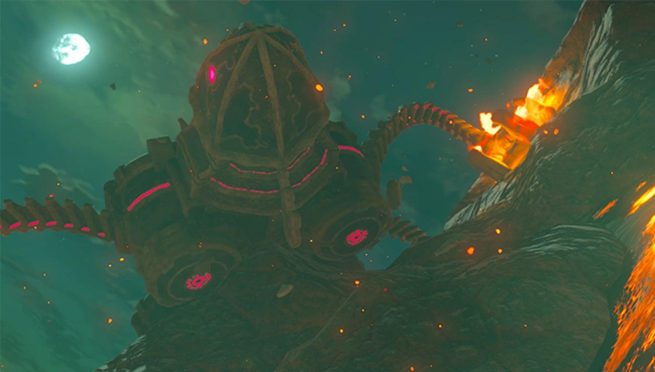 Walka wymaga strategii w grze The Legend of Zelda: Breath of the Wild na Nintendo Switch / Zelda BotW / Legend of Zelda / Breath of the Wild / NS