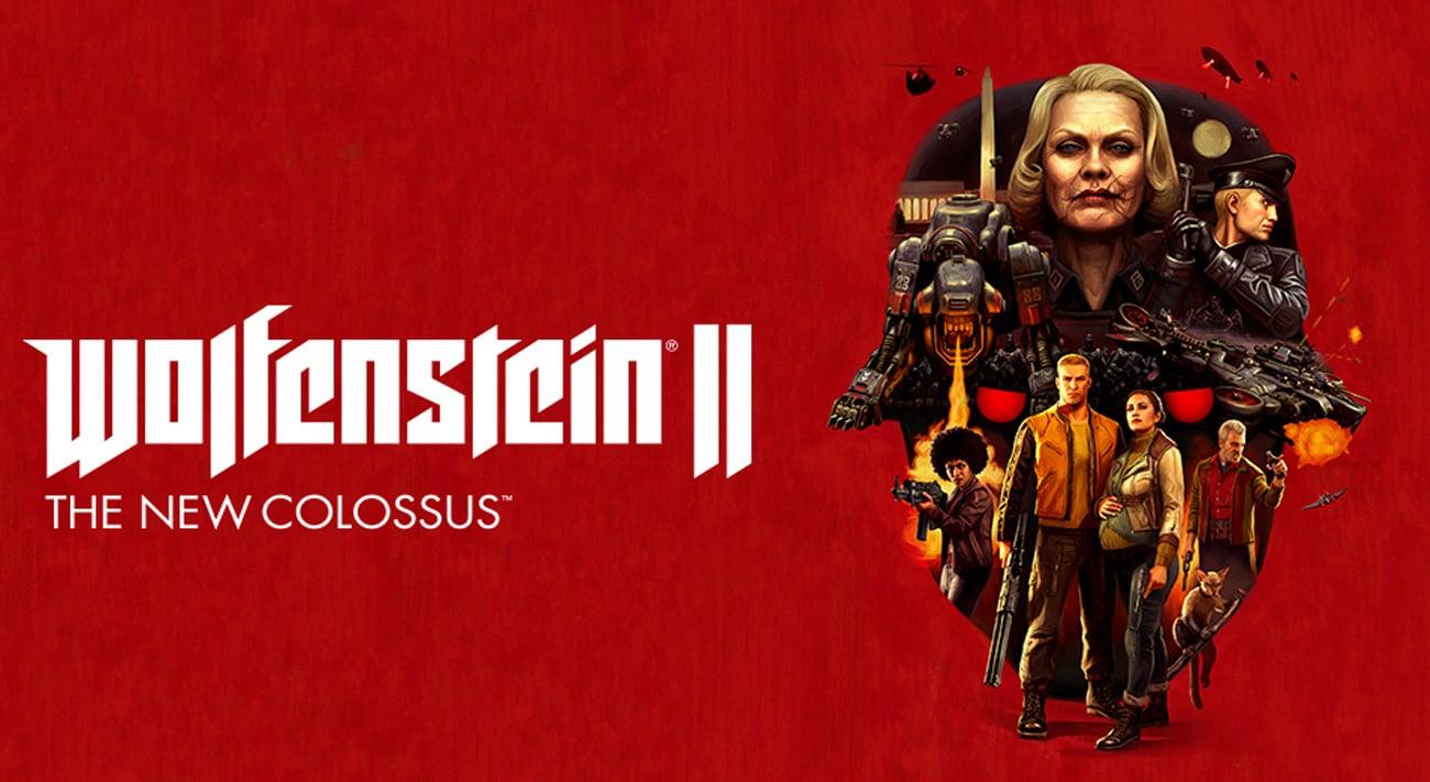 SWITCH Wolfenstein II: The New Colossus