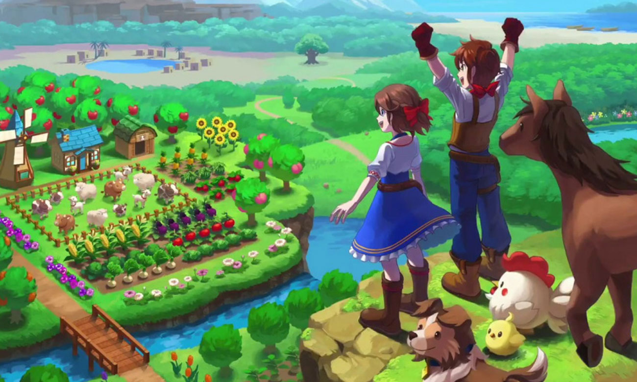 Grafika z gry Harvest Moon: One World