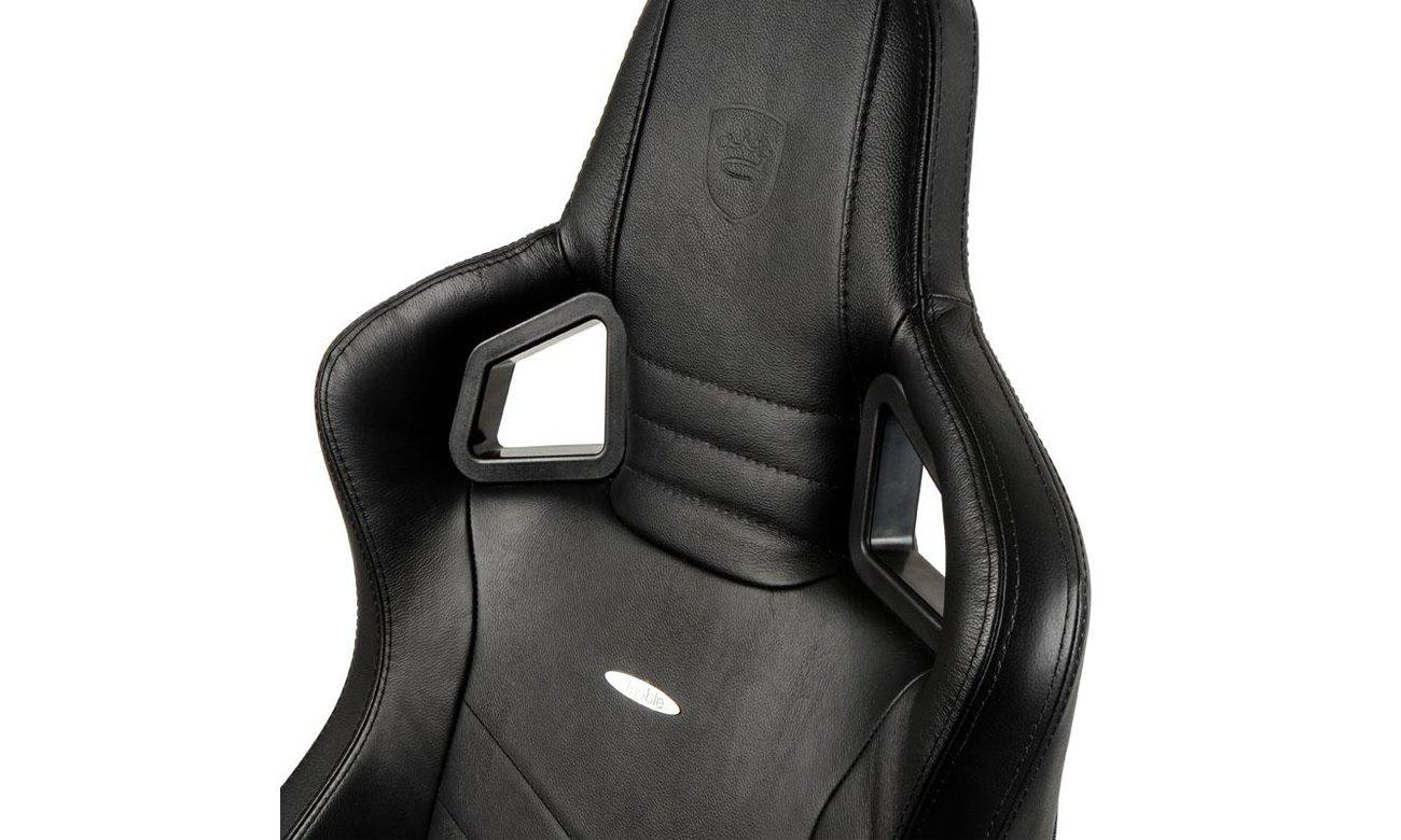Fotel noblechairs EPIC Gaming Skórzany Czarny Oparcie