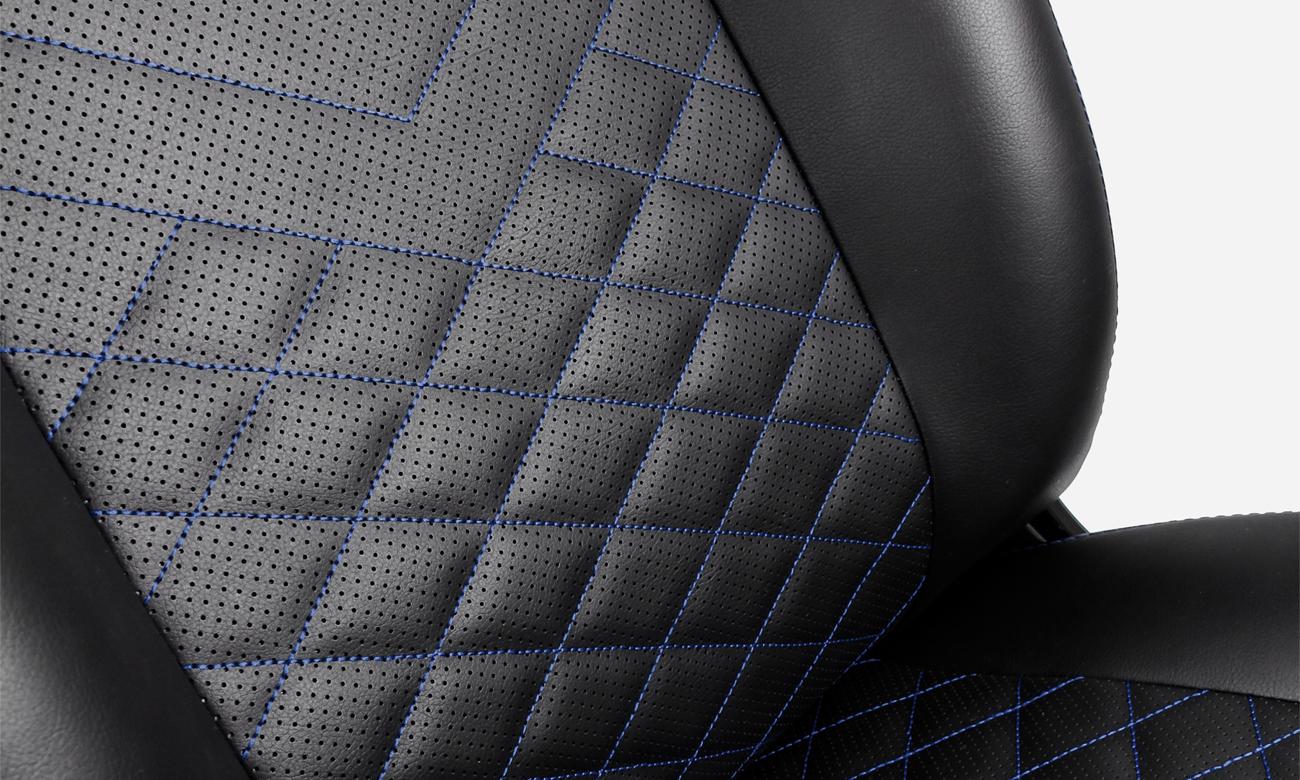 noblechairs ICON Gaming (Czarno-Niebieski) ergonomia