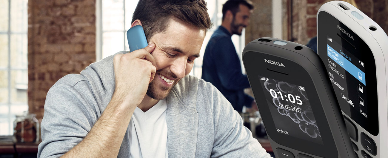 Nokia 105 (2017) Dual SIM bateria 800 mah