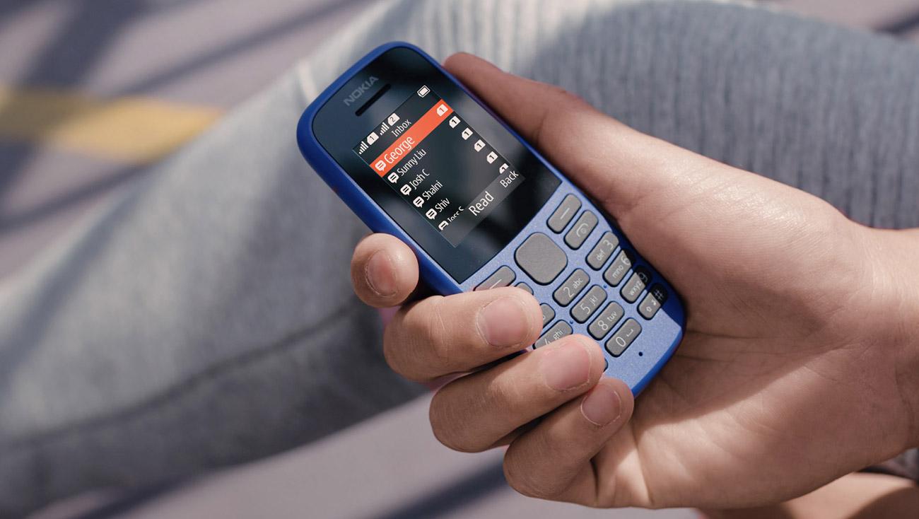 Nokia 105 (2019) Dual SIM solidny telefon