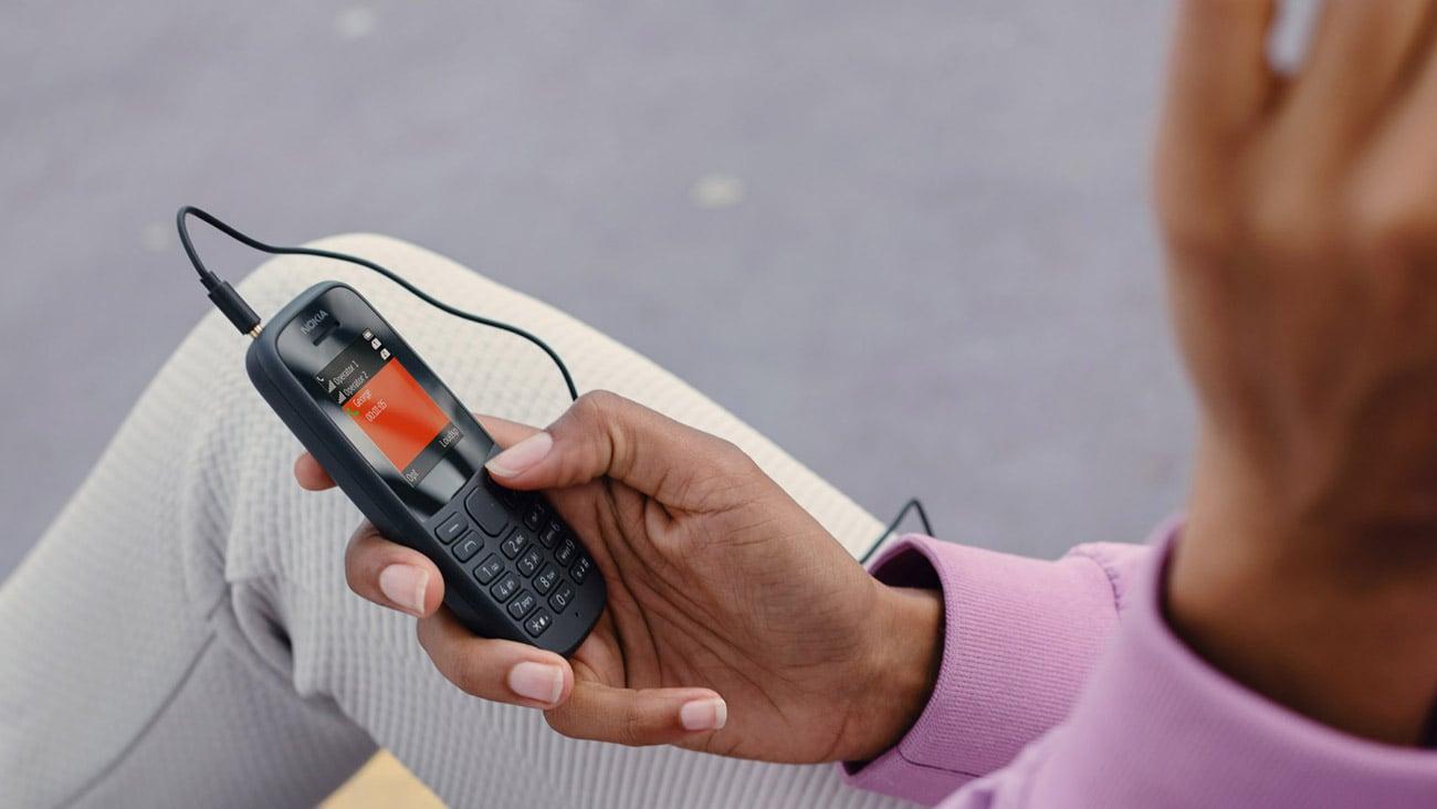 Nokia 105 (201) Dual SIM radio fm wytrzymała obudowa latarka