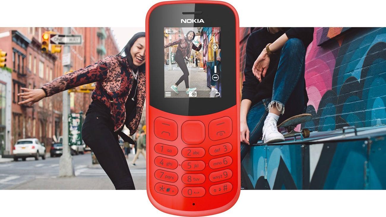 Nokia 130 2017 Dual SIM wbudowany aparat