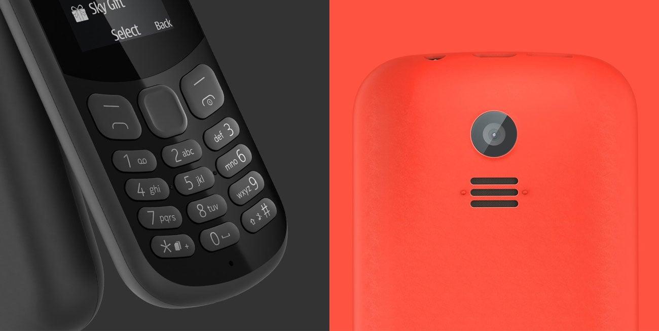 Nokia 130 2017 Dual SIM odtwarzacz mp3 radio fm