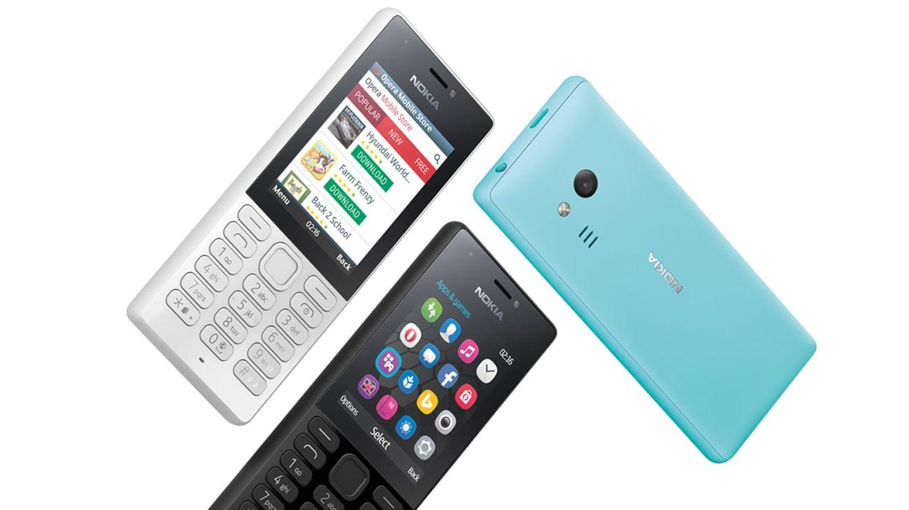 Nokia 216 Dual SIM szary internet opera