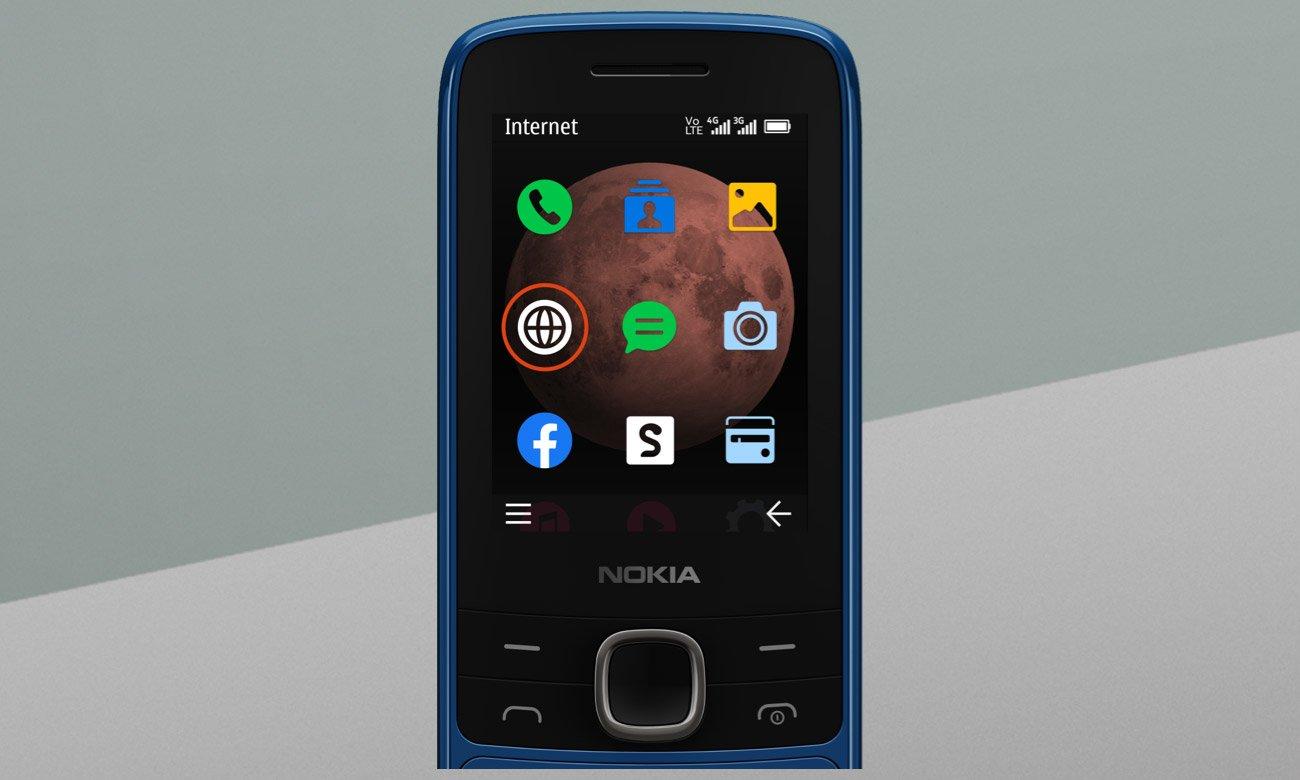 Nokia 225 4G z radiem FM i grą Snake