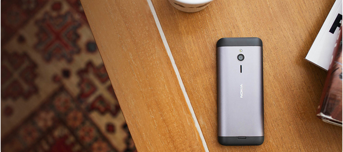 Nokia 230 Dual SIM szary ekran 2.8''