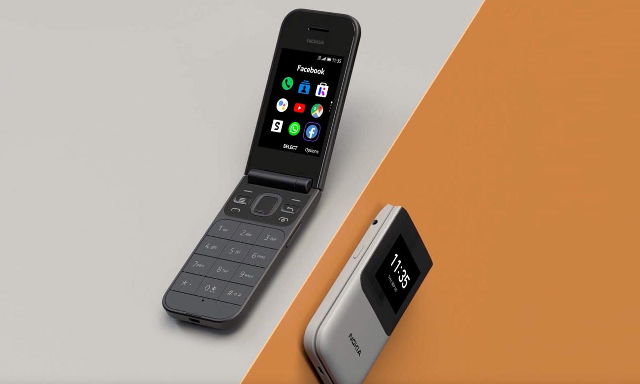 Nokia 2720 Flip klasyczny telefon z klapką