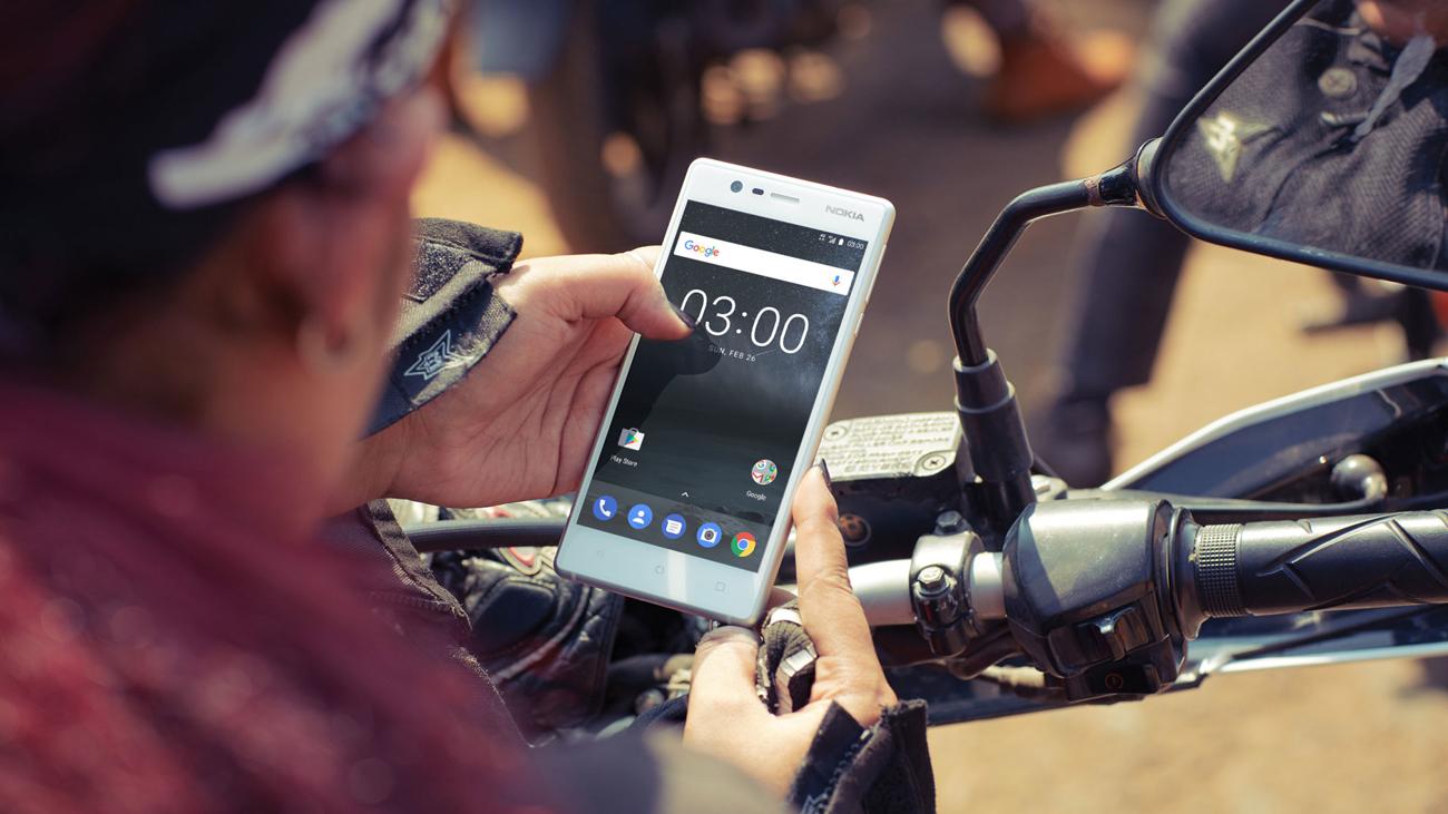 Nokia 3 Dual SIM jasny ekran IPS 5'' HD