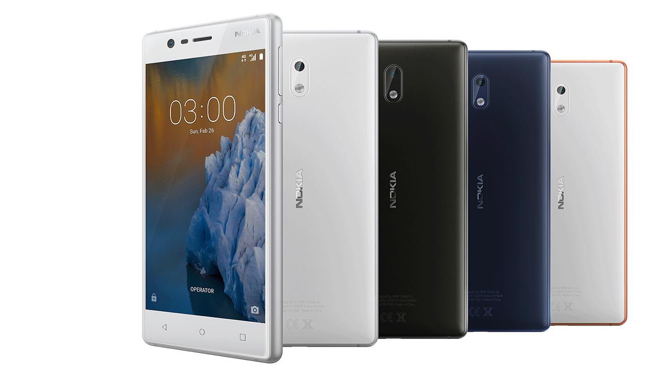 Nokia 3 Dual SIM LTE NFC multimedia