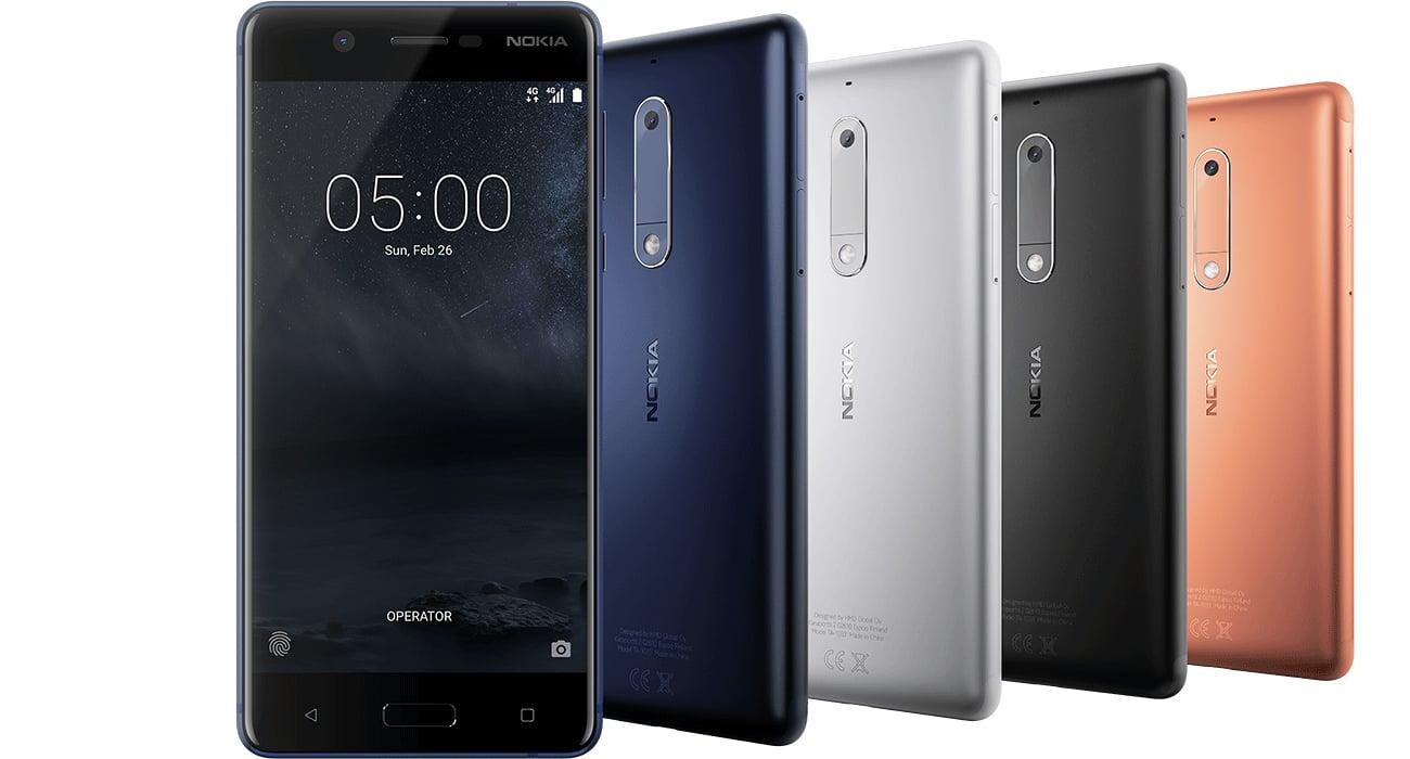 Nokia 5 Dual SIM czytnik linii papilarnych