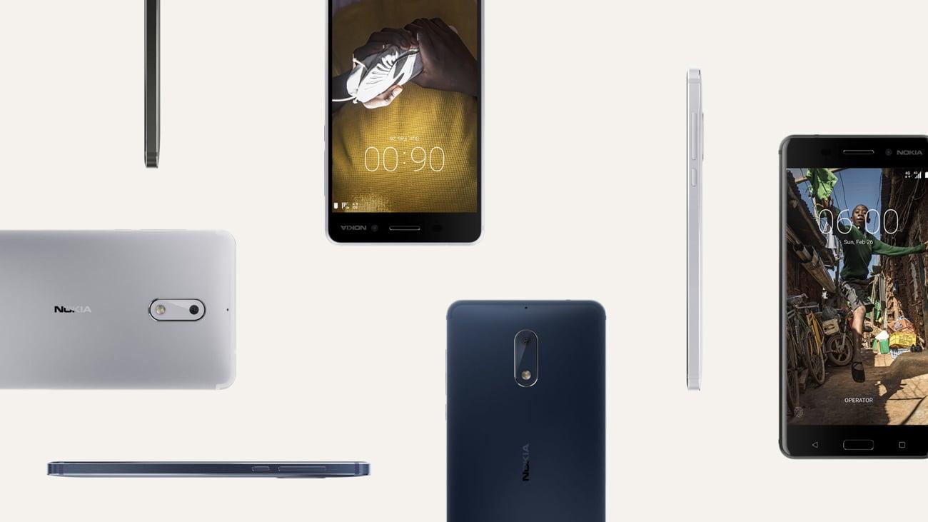 black matte Nokia 6 Dual SIM aluminiowa obudowa