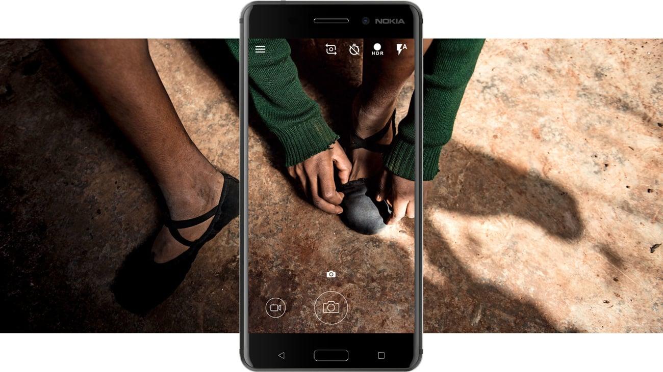 Nokia 6 Dual SIM aparat 16 mpix f/2.0