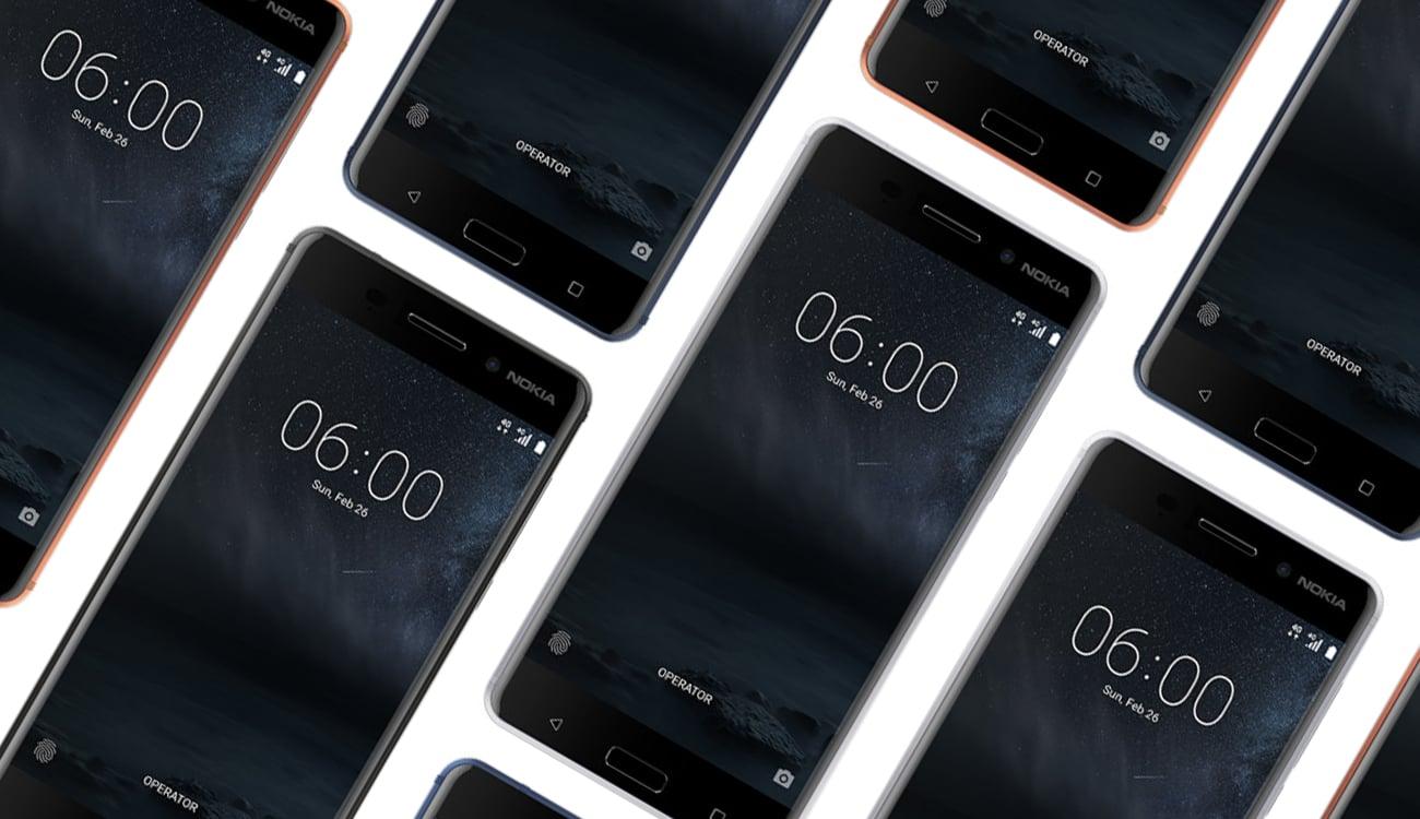 Nokia 6 Dual SIM czytnik linii papilarnych