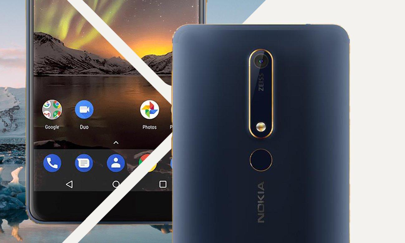 Nokia 6.1 ośmiordzeniowy procesor Snapdragon 630 bateria 3000 mAh