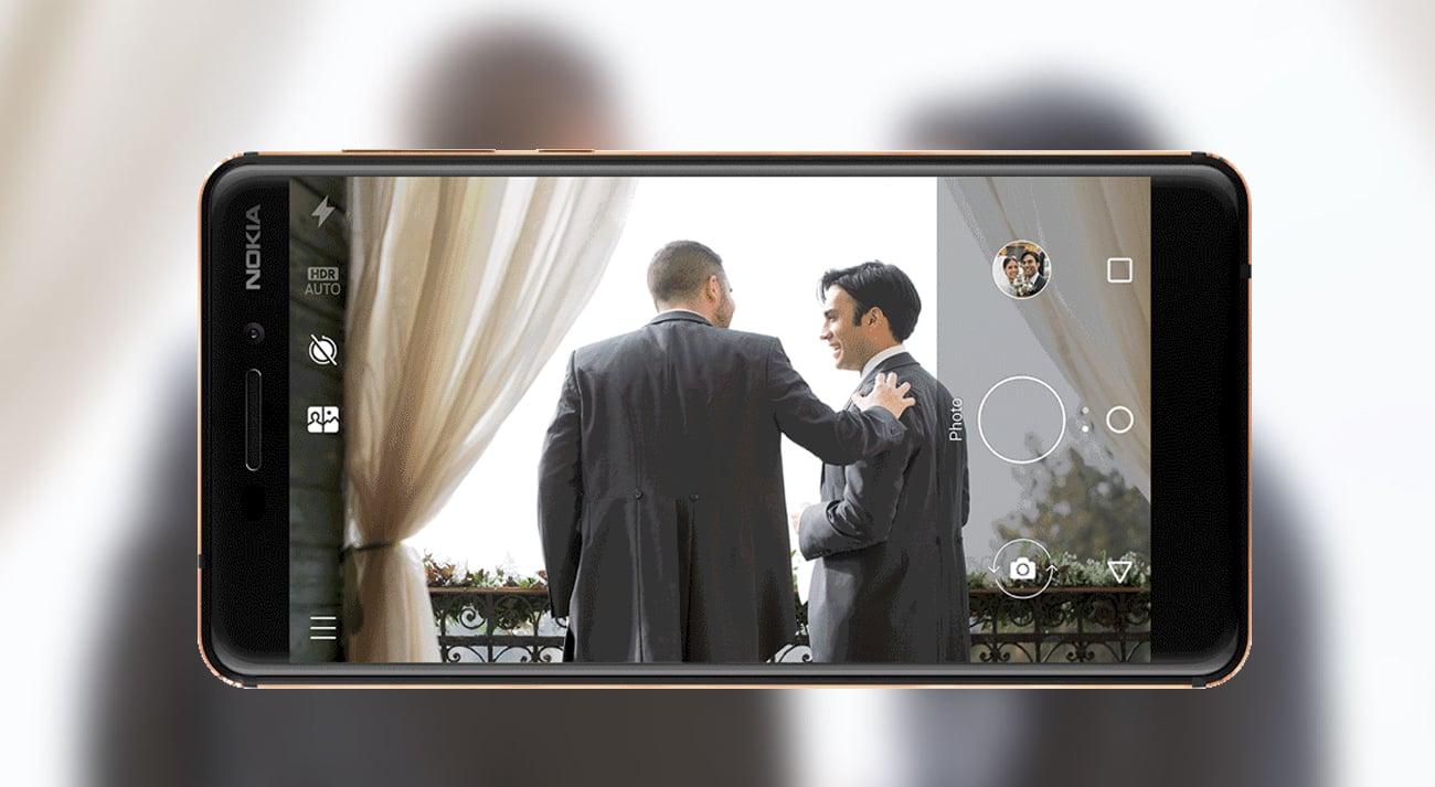 Nokia 6.1 aparat 16 mpix autofocus pdaf optyka zeiss