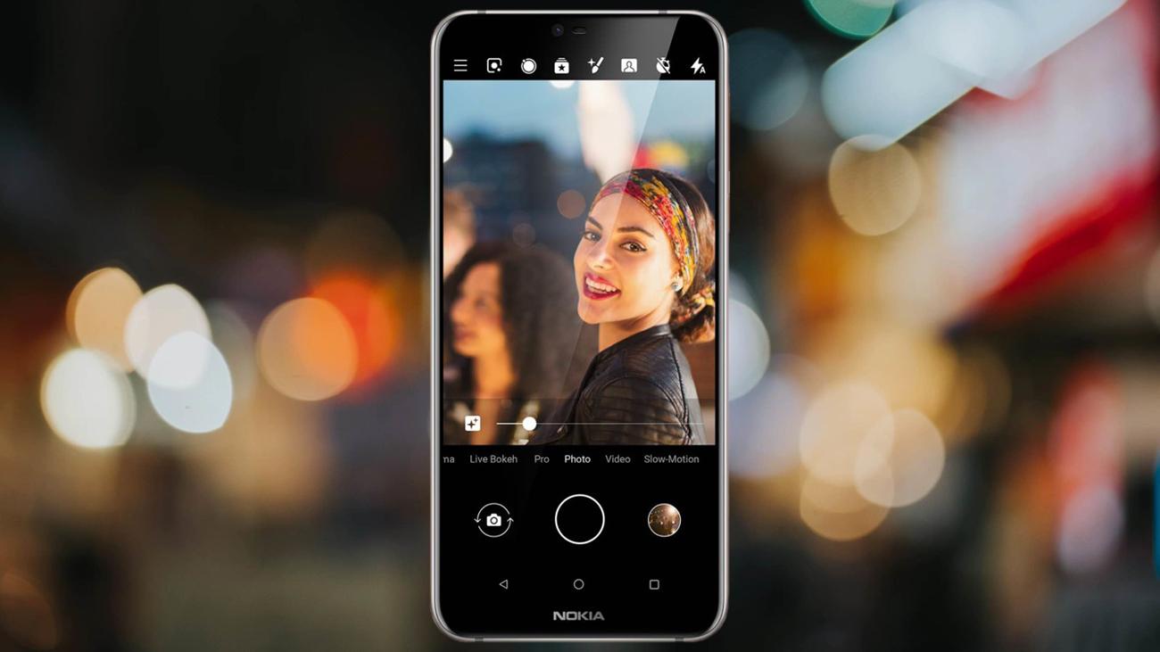 Nokia 7.1 podwójny aparat 12 + 5 Zeiss AR