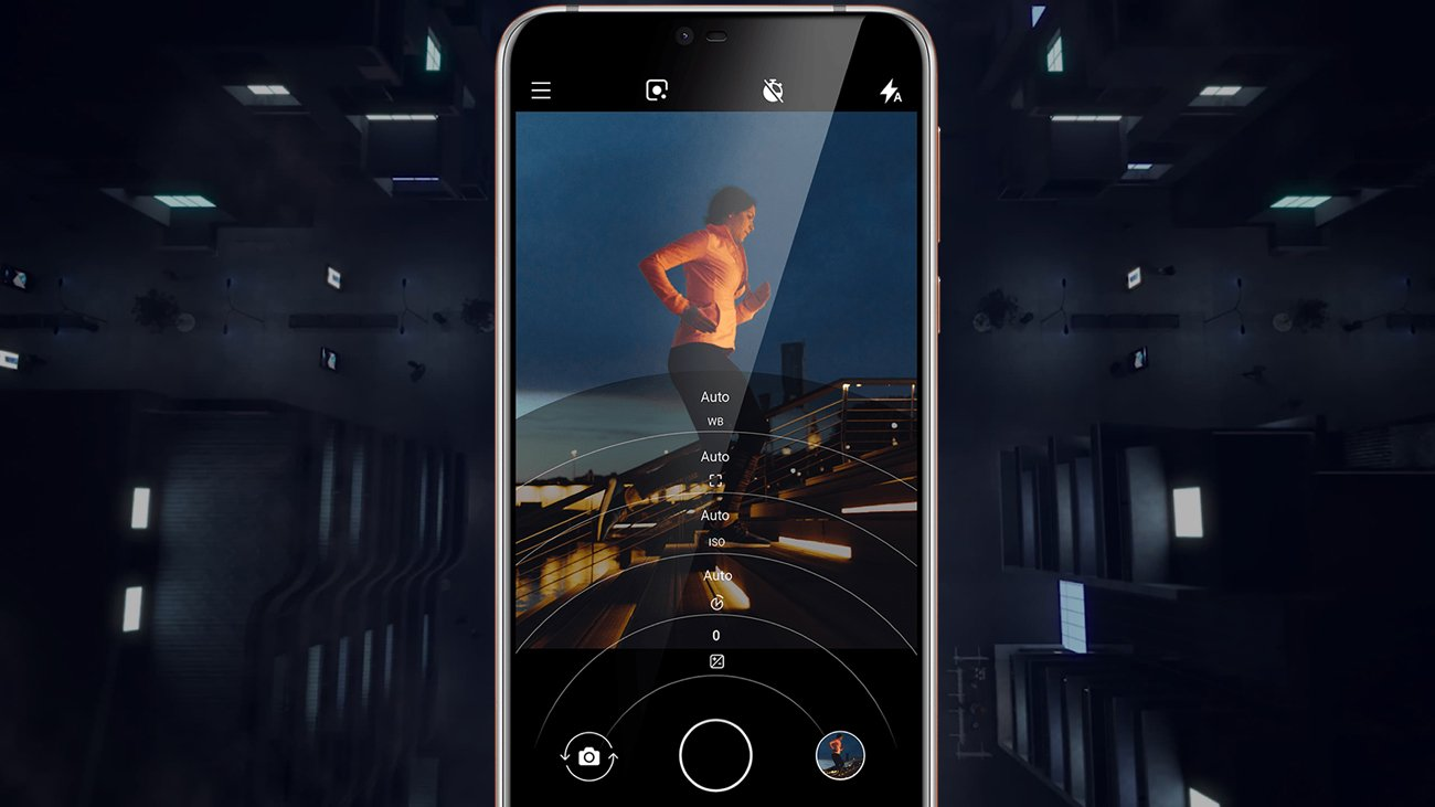 Nokia 7.1 funkcje aparatu pro ui 3d dual-sight